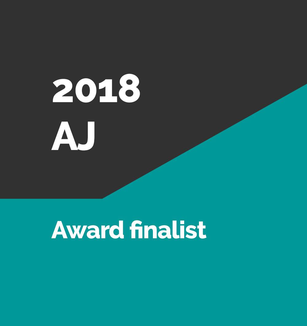 2018 AJ Award finalist